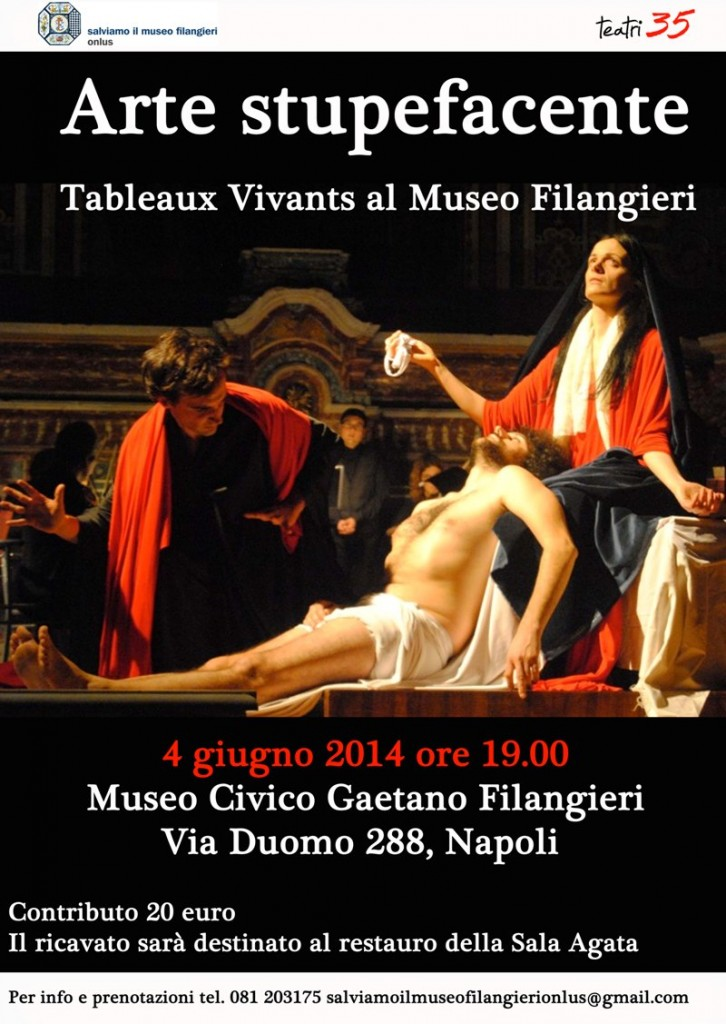I Tableaux Vivants al Museo Filangieri